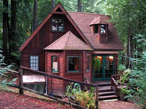 Cabin Rentals In California by Tranquil Redwood Cabin Mental Scoop