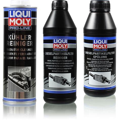 liqui moly pro  reiniger set kuehler und