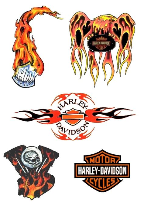 free harley davidson tattoo designs custom tatoo 1000 designs volume 2 free