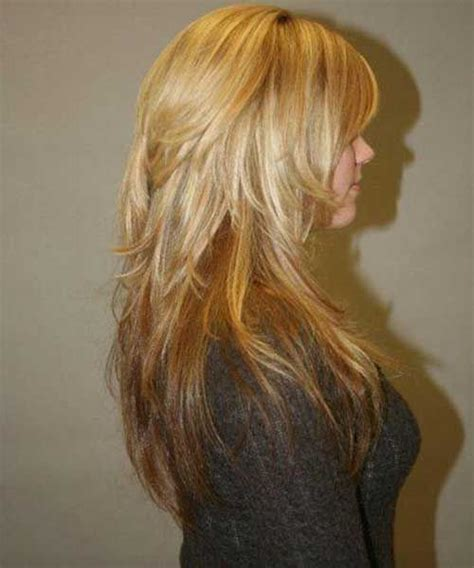 pictures of back of choppy layered hair best long choppy layers hairstyle haircut styles