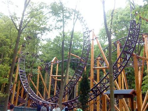 theme park holland the loop on falcon picture of duinrell amusement park