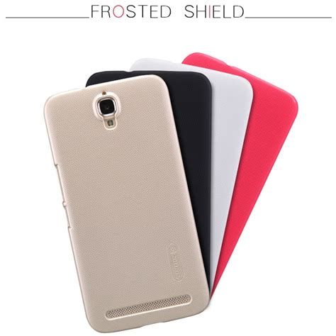 Nillkin Frosted Shield Alcatel One Touch Flash Plus Golden nillkin frosted shield for alcatel one touch flash plus black