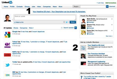 5 Steps To Successful Linkedin Advertising Social Media Examiner Linkedin Ad Template