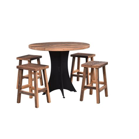 bar table amish crafted furniture