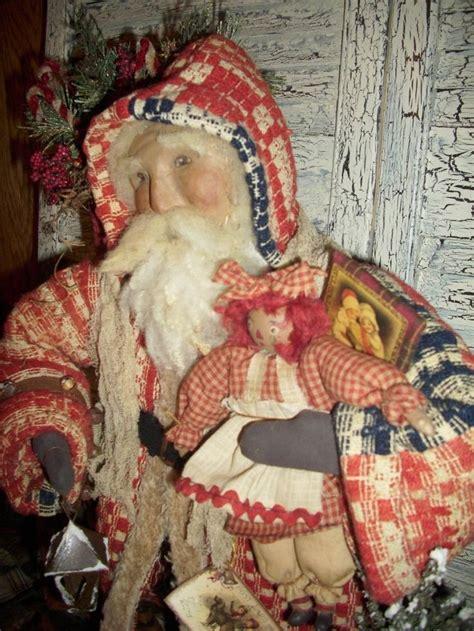 Handmade Santa Claus - 1000 ideas about primitive santa on primitive