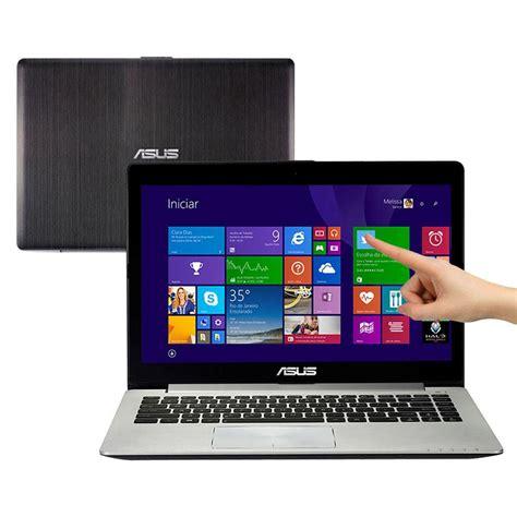 Laptop Asus Vivobook S400ca I5 notebook touch asus vivobook s400ca bra ca215h intel 174 i5 3317u 4gb 500gb leitor de