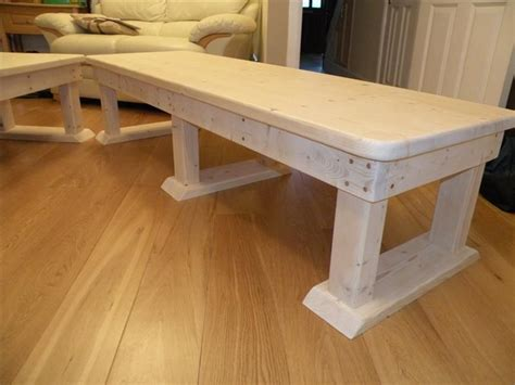 Wood Bench Coffee Table Solid Wood Bench Coffee Table Todo Espa 241 Ol
