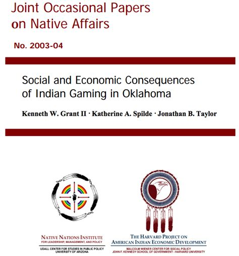 indian gaming cases and materials paperback books nations institute social and economic