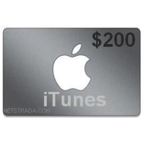 200 Gift Card - 200 itunes gift card apple tv usa ipad iphone app code emailed 200