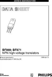 transistor f422 datasheet philips bf869 silicon npn high 28 images silicon npn switching transistor quality silicon
