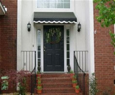 Front Door Canvas Awnings Black Canvas Awning Door Front Yard
