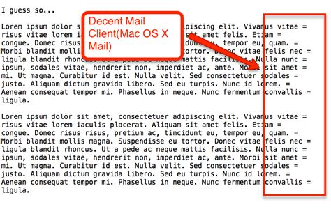 Quoted Printable Html Email | email processing why isn t gmail using quoted printable