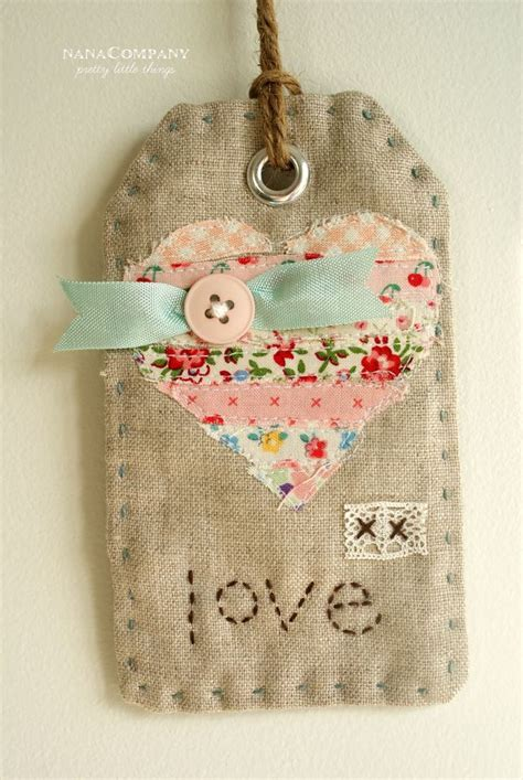Fabric Tags For Handmade Gifts - best 25 handmade gift tags ideas on