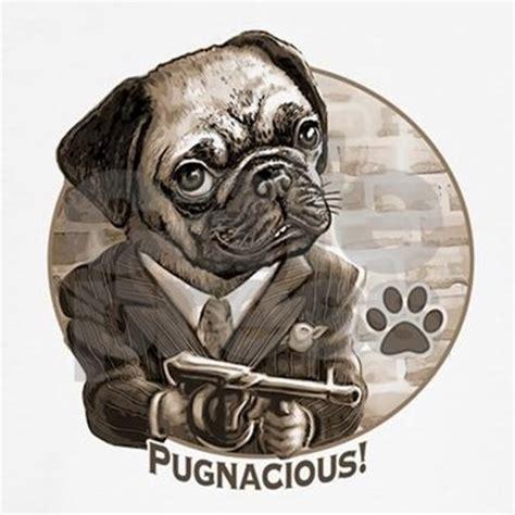 pug gun pugnacious pugs with guns sleeve t shirt by stopmadcowboy