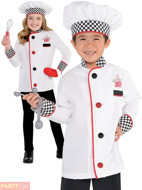 Cooked Clothes It Or It by Master Chef Costume Fancy Dress Up Boys Book