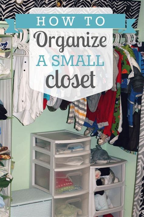 how to organize a small closet 187 daily