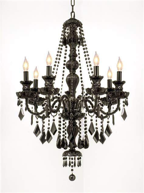 Black Chandelier Lighting by Black Chandeliers Interior Exterior Doors