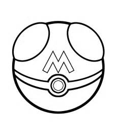 Pokeball Master Ball Pokemon Coloring Pages Sketch Page sketch template