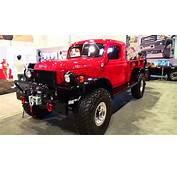 1947 Dodge Power Wagon SEMA 2014  YouTube