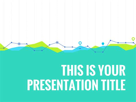 Free Template With Stats Graphs Design For Powerpoint Free Presentation Template