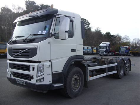 volvo trucks uk volvo fm450 chassis cab trucks year of manufacture 2011