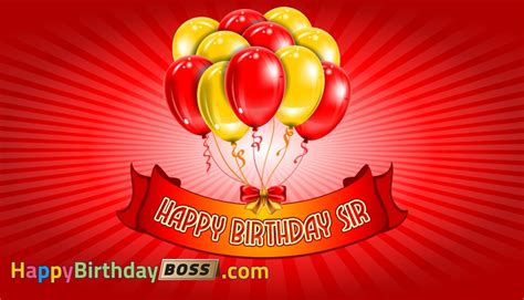 birthday wishes to sir happy birthday sir happybirthdayboss