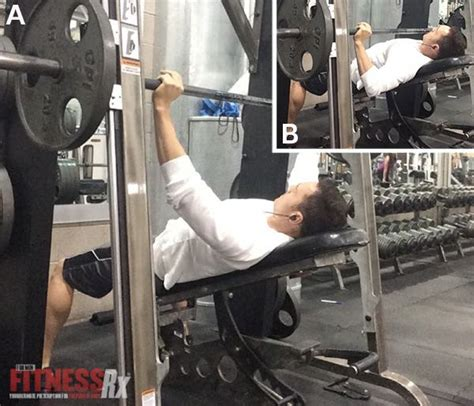 using smith machine for bench press the science based workout for optimal chest development fitnessrx for men