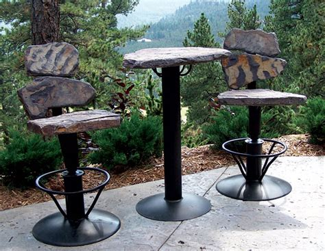 casual living patio furniture planner viewit technologies product of the day swivel bar set by stone 2 furniture