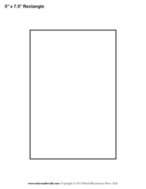 10 x 7 card template pdf rectangle templates blank shape templates free