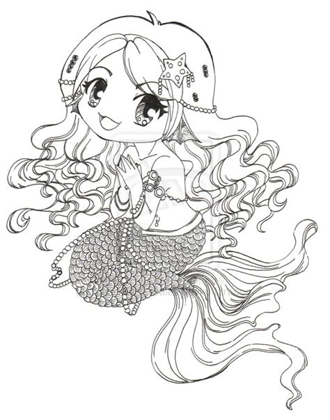 sketchbook anime kawaii food 120 pages of 8 5 x 11 blank paper for drawing books chibi mermaid wip 2 by clinkorz on deviantart