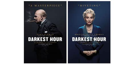 darkest hour film uk release date universal pictures unveil the character posters for