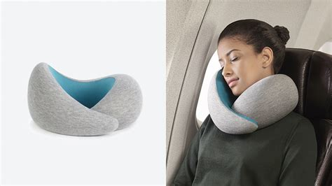 travelling pillow ostrich pillow go maximum comfort sleep for all necks by
