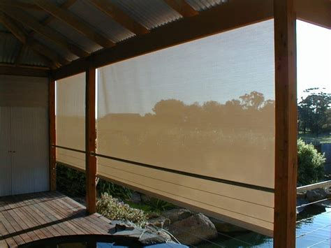 canvas awning blinds patio pvc and mesh roller blinds shade blinds for