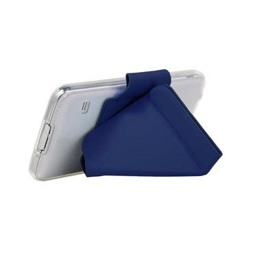 Samsung Galaxy S5 Smart Cover Auto Lock Stand Leather Sleeve I9600 origami stand for galaxy s5 navy s5origaminvy
