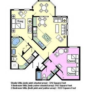 Old Key West 1 Bedroom Villa Floor Plan Disney S Old Key West Thedibb