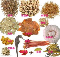 The synergistic effects of traditional chinese herbs and