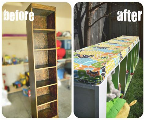 bookshelf into bench recycle archives simple home diy ideas