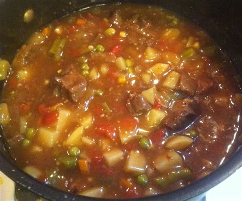 Beef Stew Soup Recipe