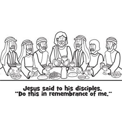 coloring pages jesus last supper 69 best images about lent easter coloring activities for