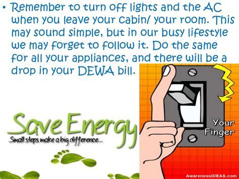 Safe Energy save energy save