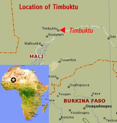 timbuktu map timbuktu mali world heritage