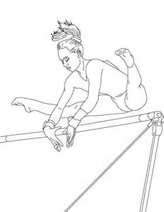 gymnastics coloring pages photo 17179 gianfreda net
