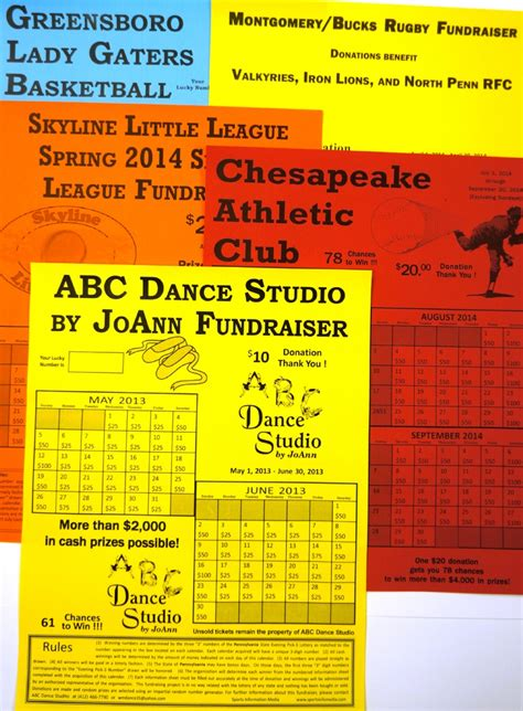 Calendar Fundraiser Calendar Fundraising Kit