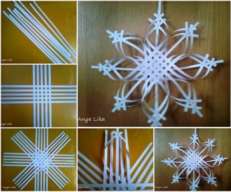 Make Your Own Snowflake Out Of Paper - paper snowflake ornament