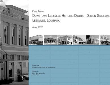 design guidelines for local historic districts design guidelines