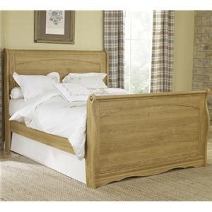lang oak creek panel bed with underbed storage tray