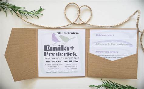 Hochzeitseinladung Vogel by Juhu Papeterie Karlsruhe Hochzeitseinladung V 246 Gel