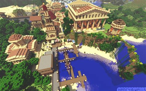 Build Your Own Virtual House minecraft roman town