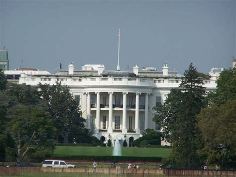 the view house the white house front view photo