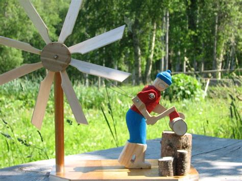 information homemade yard windmill tree energy